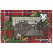 More details for annan gswr railway station postcard by richardson, unused
