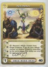 2008 Chaotic Trading Card Game - Silent Sands Booster Pack Base #30 Na-Inna 1v3