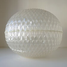 Vintage Suspension globe Lustre années 70 ALOYS GANGKOFNER design 1970