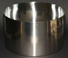Stelton AJ Salad Bowl, 24 cm, for Serving, Stainless Steel, Cylinder Line, 022-1