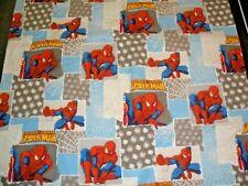 Spiderman Fleece Handmade Pillowcase Standard Size