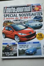 AUTO JOURNAL 637 FIAT IDEA OPEL MERIVA GOLF C2 RANGE STORMER SEAT IBIZA 2004