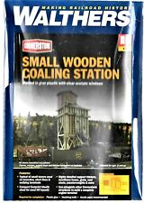 HO Scale Walthers Cornerstone 933-4202 Small Wood Coaling Station Kit