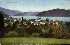 Millstatt am See Österreich Kärnten AK ~1910 Panorama Totale Landschaft Kirche