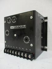 Minarik SL31UD4 Control for 1/15-HP Shunt Motor 115VDC Input 115V 50/60Hz