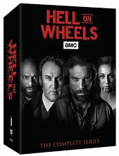 HELL ON WHEELS: The Complete Series Seasons 1 2 3 4 5 ( DVD, 2016, 17-Disc Set)