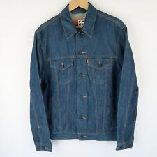 LEVIS Vintage red tab blue denim trucker jacket SZ Large (E5724)