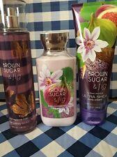 Bath & Body Works Brown Sugar And Fig Cream, Lotion , Frag Mist