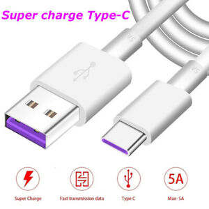 5A Type C cable USB 3.0 to USB C 3.1 Fast Charger Data Cable for Samsung Huawei