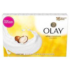 New ! 16 X 5 oz Olay Ultra Moisture with Shea Butter Beauty Bars