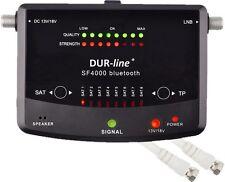 SatFinder  SF4000BT von DUR-line® Sat Finder SAT Messgerät Satelliten SF 4000 BT