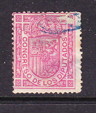 Spain postage stamp -1895 'Official' No Value - Used