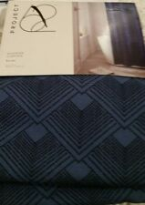 NWT Project 62 Blue Geo Shower Curtain