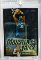 2003 03-04 Upper Deck Victory Monster Jams Michael Jordan #212, Sharp Foil MJ
