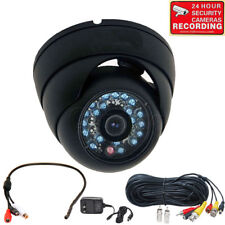 Security Camera Night Vision Outdoor Wide Angle w/ SONY CCD Audio Microphone mkv