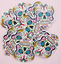 "Harrows QUADRO Dart Flights ""mexican Death Skull"""