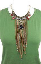 Ausdrucksstarke Modeschmuck-Halsketten & -Anhänger aus Gemischte Metallen mit Strass