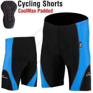 Mens Cycling Tights Shorts Padded Mens Leggings short Cool Max Anti Bac Pad New