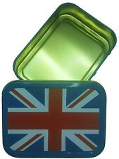 Big Size Union Jack 2oz Tobacco Camping - Storage - Sewing - Survival Tins