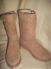 UGG Aust. AMIE  Sheepskin Boots Womens size 7  1013428  chestnut brown Tall