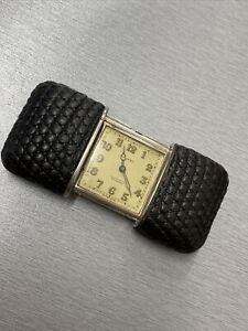 Movado Ermero Argento Rare Working Vintage Watch