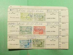 DR WHO 1948 ARGENTINA DOCUMENT WITH REVENUE  g32462