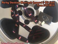 HARLEY DAVIDSON MOTORCYCLE  #1 USA LANYARD & HD CARD FRM 2014 FATBOY SPORTSTER