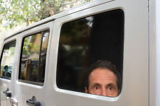 ANDREW CUOMO WINDOW STICKER CREEPY PEEPING vinyl decal - Governor Cuomo Watching