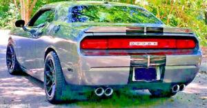 """Challenger SRT8 FOR Dodge STAINLESS STEEL DUAL EXHAUST TIPS 4.0 2.5"""" 4"""" SRT SRT8"""