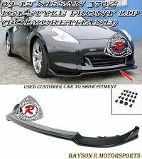 iG1-Style Front Lip (Urethane) Fits 09-12 Nissan 370z