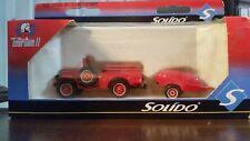 Solido Toner Gam Ii Dodge Wc-51 Fire Truck/2-Wheel Motopompe,1:50,Die-cast,N ib