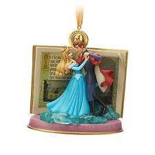 Disney Store Sleeping Beauty Christmas 2019 Legacy Sketchbook Ornament - Blue