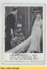 1961 #13 You Knew That I Was When Marrie Me-Why Are Backing Out? READ Card 0s4