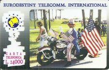 RARE / CARTE TELEPHONIQUE - MOTO CHOPPER BIKER HARLEY DAVIDSON PHONECARD LIMITED