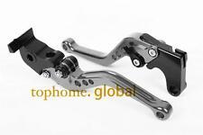 Short Gray CNC Clutch Brake Levers For HONDA CB599 / CB600 HORNET 2002 1998-2006