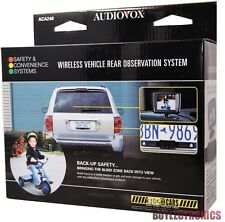 "Audiovox ACA240 Wireless License Plate Rear View Camera With 2.5"" Monitor"