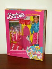 Vintage 1986 Vacation Sensation Barbie Giftset NRFB #1675