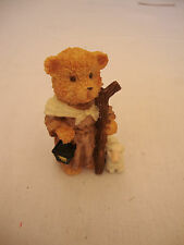 Wise Man Bear Nativity Statue Figurine Holiday Christmas Decor Nautical Lamb