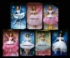 Peppermint Candy Cane Barbie Doll Swan Flower Snowflake NO BOXS Ballerina Ballet