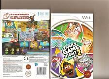 HASBRO FAMILY GAME NIGHT VOLUME 2 NINTENDO WII 5 GAMES