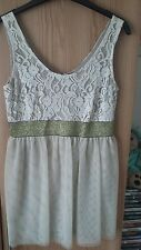 Awear 10 gold lace top