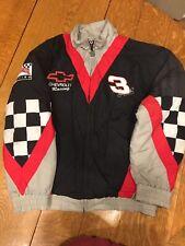 VTG Dale Earnhardt Quilted Jacket -Intimidator Series NASCAR-L- & License Plate
