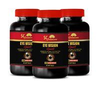 carotenoid supplement, EYE VISION GUARD vitamins for eyes 3 Bottles 180 Softgels