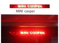 Adesivo fibra di carbonio terzo stop luce freno auto Mini Cooper S R56 F55