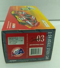 DALE EARNHARDT JR #8 RITZ OREO MONTE CARLO 2003 ACTION 1:24 DIECAST 1 OF 5004