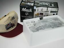 First Gear R-600 Straight Transport Truck Model Van Mack Delivery Hat 19-2410