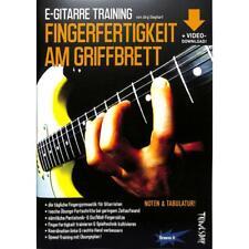 E-Gitarre Training - Fingerfertigkeit am Griffbrett - Noten und Tabulator