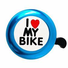 /' I Like My Bike/'Bike Horn Bicycle Bell Loud Aluminum Bike Ring Mini D7Q7