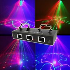 DMX 3D Effects Red Green Blue Laser Light for Christmas Decor Party 1500mW