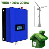 1000W 2000W Wind Turbine Grid Tie Inverter For Input AC22-65V/45-90V Wind System